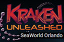 Seaworld Orlando Kraken rollercoaster